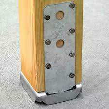 Simpson Strong Tie Abu Zmax Galvanized Adjustable Standoff Post Base For 4x4 Nominal Lumber Abu44z The Home Depot