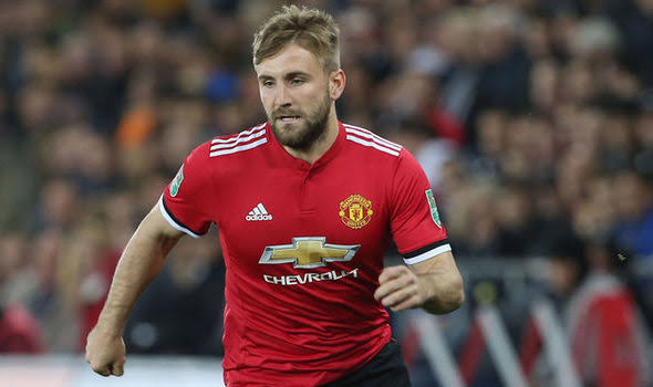 Image result for luke shaw getty""