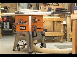 Ridgid 10 Inch 13 Amp Table Saw Model R4512 Youtube