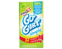 yoplait go gurt simple 32 ct
