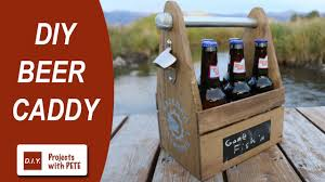 beer caddy diy six pack carrier