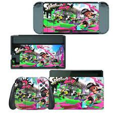 Nintendo Switch Skin Decal Sticker Vinyl Wrap Splatoon 2 Ebay