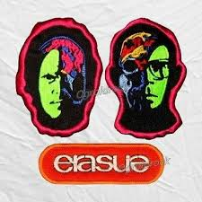 Set Erasure Embroidered Patches Band Logo Andrew Ivan Bell Vince Clarke  Chorus   eBay