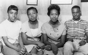 Us Civil Rights. From Left High School Photograph by Everett