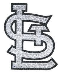 St Louis Cardinals Bling Auto Emblem New Mlb Car Decal Glitter Sticker Cdg St Louis Cardinals Cardinals Car Emblem