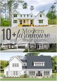 modern farmhouse floor plan round up