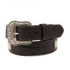ariat men s western leather belt 1 1 2