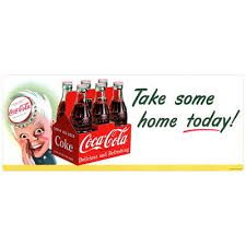 Collectibles Coca Cola Coca Cola Kay Style Sprite Boy Wall Decal 24 X 7 Vintage Style Kitchen Decals Stickers Zsco Iq
