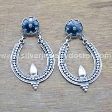 silver jewelry fine earring we 5928