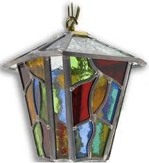 chepstow multi coloured leaded glass