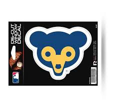 Chicago Cubs Retro Logo Die Cut Decal New Mlb Car Or Laptop Hub City Sports