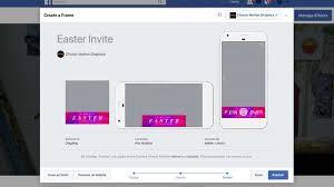 create a custom facebook profile frame