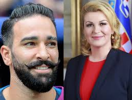 France World Cup winner Adil Rami finally reveals how he embarrassed  himself after Croatia President told him he has 'nice moustache'.