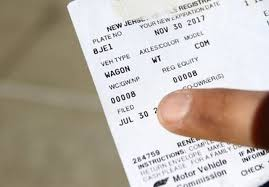wrong vehicle registration fee