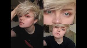 cute but androgynous make up tutorial