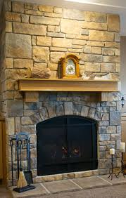 hang art on a stone or brick fireplace
