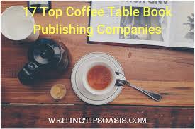 coffee table book publishing companies