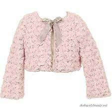 bow little special occasion bolero