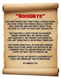 collection of interesting goodbye quotes