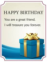 friend birthday gift box card