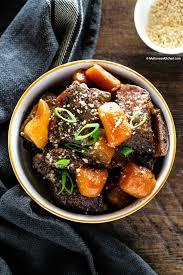 instant pot korean short ribs my
