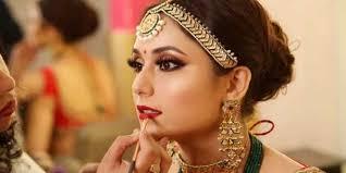 picking out a wedding makeup artist
