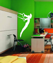 Amazon Com Sport Gymnastics Gymnastic Rings Kids Room Children Stylish Wall Art Sticker Decal G9575 Home Kitchen