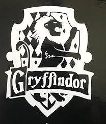 Amazon Com Harry Potter Gryffindor House Crest Vinyl Decal For Computer Car Etc Everything Else