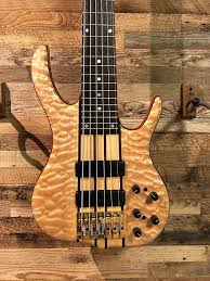 Ken Smith BSR6EG Elite 6 String Bass - Quilt Maple / Mahogany | Reverb