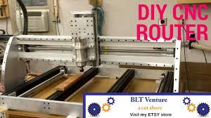 diy cnc router build heavy duty you