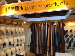 alpha leather products