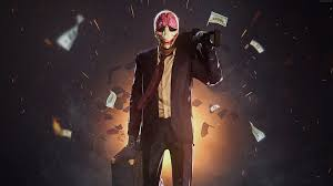 payday 2 robbery suit fps clown