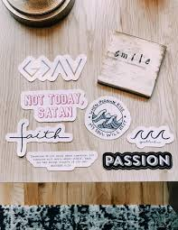 Not Today Satan Sticker Christian Stickers Elevated Faith