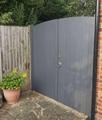Pvc Double Gates For Driveways And Gardens 1500mm 2000mm Plastic Gates Tekplas