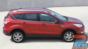 Ford Escape Upper Body Stripe Decals Runaround 3m 2013 2017