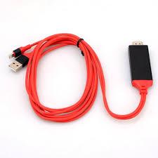 Cáp chuyển đổi 2M 4K 3D USB HDMI HDTV cho iPhone 7 7 Plus 6s 6 5 SE ios10