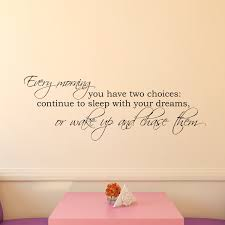 Vinyl Wall Decal Dream Wall Decal Chase Your Dreams Vinyl Etsy