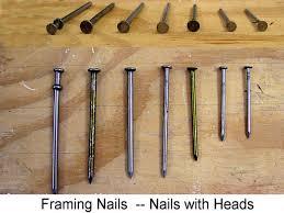 nail guide for diy ers framing nails