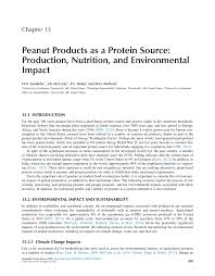 peanut s as a protein source