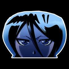 Pin On Peeking Anime Sticker