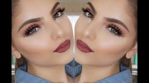 tutorial makeup simple saubhaya makeup