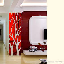 Diy Creative Tree Patterns Mirror Surface Wall Sticker For Dining Room Living Room Decoration 3d Wall Art Mural Decal Wall Stickers For Bedrooms Wall Stickers For Boys From Jiachengtz 9 82 Dhgate Com