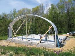 we built a quonset hut home mother