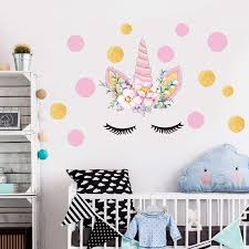 Unicorn 1 Kids Furniture Decor Storage Unicorn Wall Decals Unicorn Wall Stickers Decor Birthday Gifts For Girls Kids Bedroom Decor Nursery Room Decor Home Party Favors Kids Furniture Decor Storage Kids Furniture