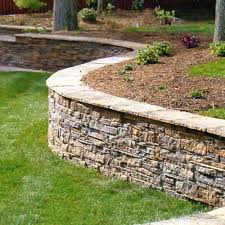 most homeowners install retaining walls