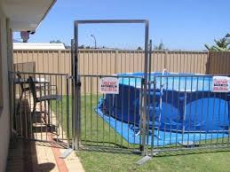 Temporary Fencing For Your Swimming Pool Perth Western Australia