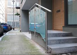 stainless steel glass railing systems