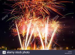 Fireworks Grand Finale Stock Photo - Alamy