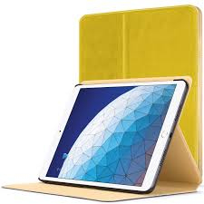 Apple iPad Air 3 Smart Cover Luxury Case Stand Yellow + Stylus Protector