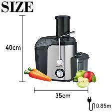 2 Tốc Độ Lớn Kích Thước Thép Không Gỉ Máy Ép Trái Cây Và Rau Củ Quả Hút Có  Thể Tháo Rời Trái Cây Uống Máy Nhà Sonifer|vegetable juice extractor